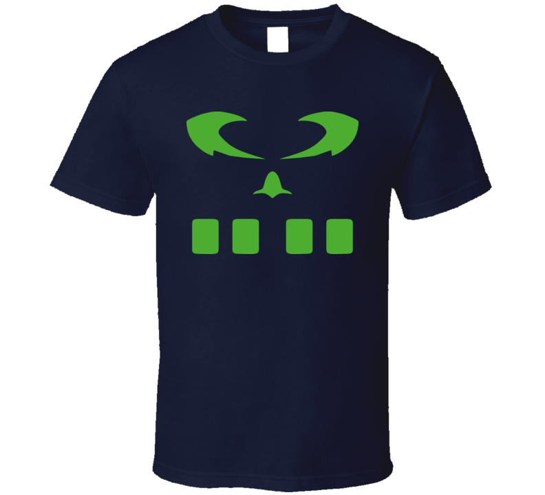 Reboot Cartoon Megabyte Viral Symbol T Shirt