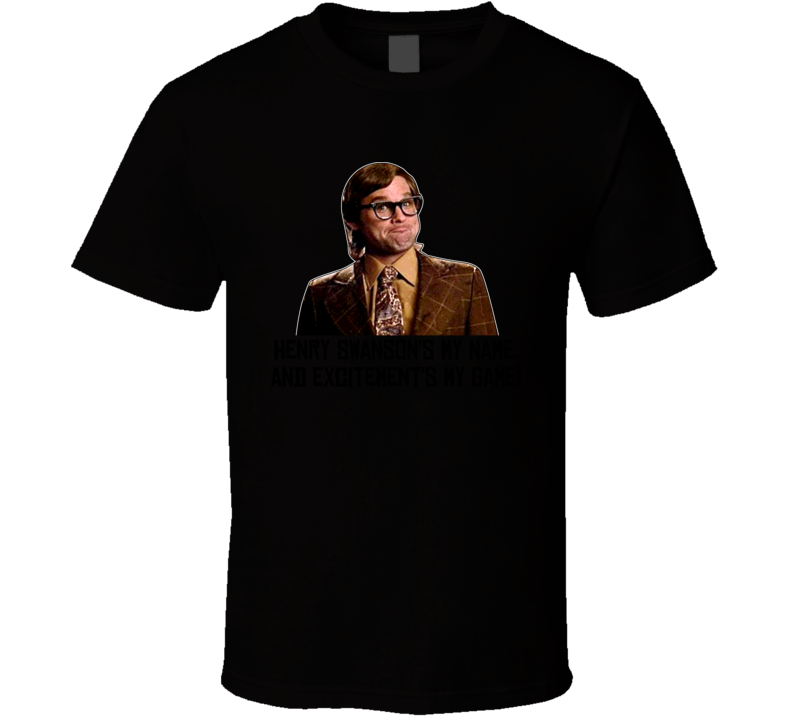 Big Trouble In Little China Henry Swanson T Shirt