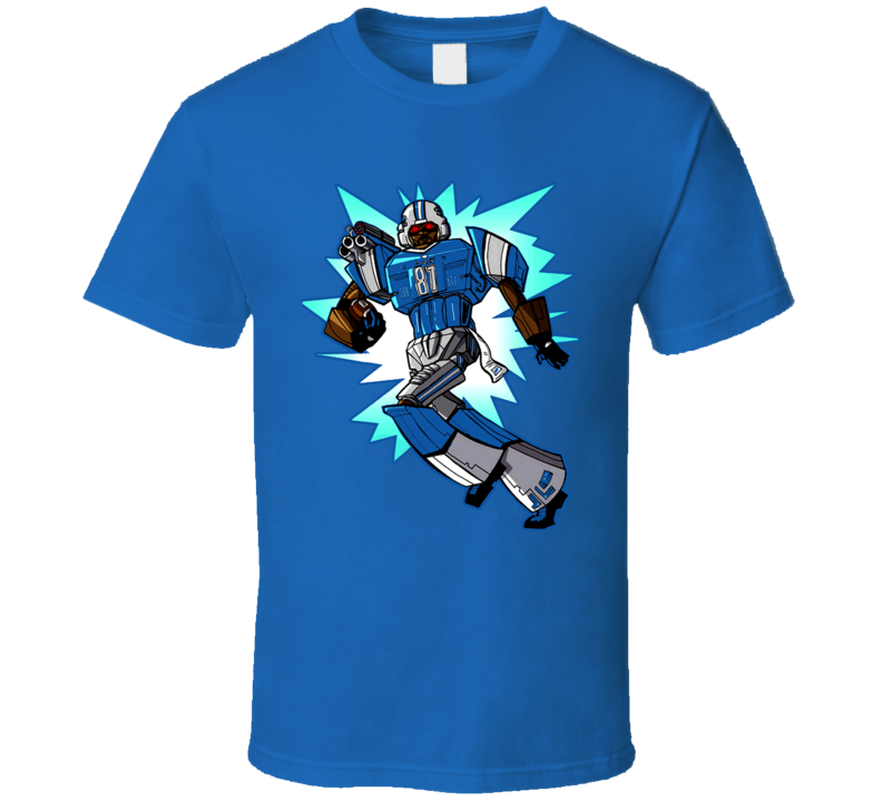 Calvin Johnson Megatron Cartoon T Shirt