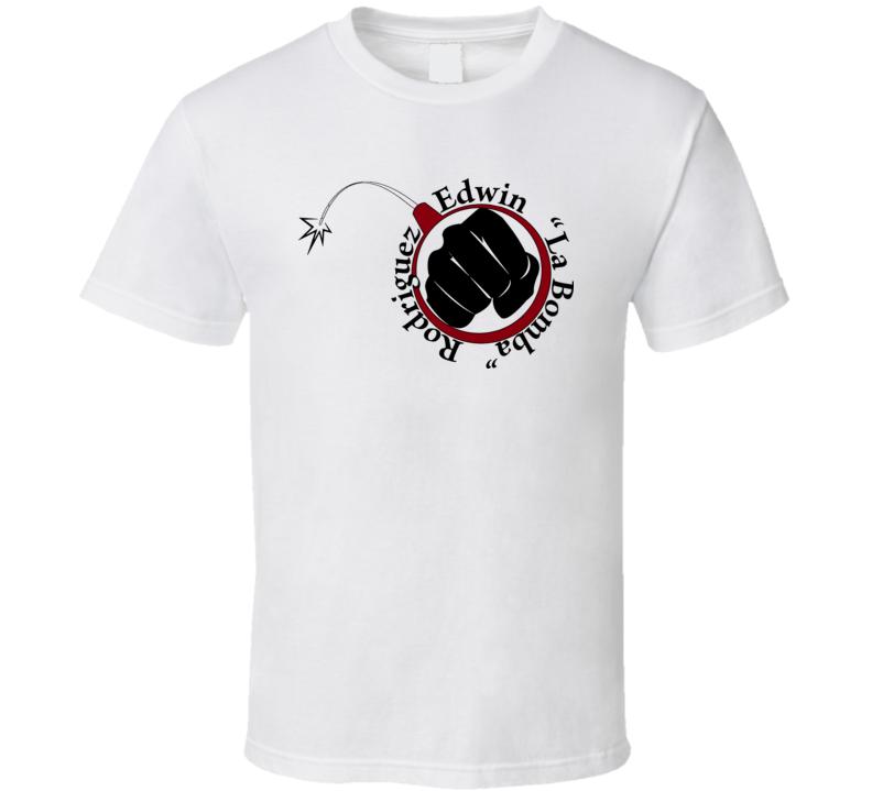 Edwin La Bomba Rodriguez Boxing T Shirt