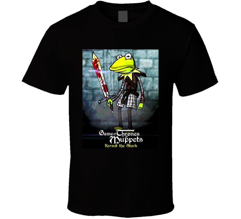 A Game Of Thrones Muppet Parody Kemit The Stark T Shirt