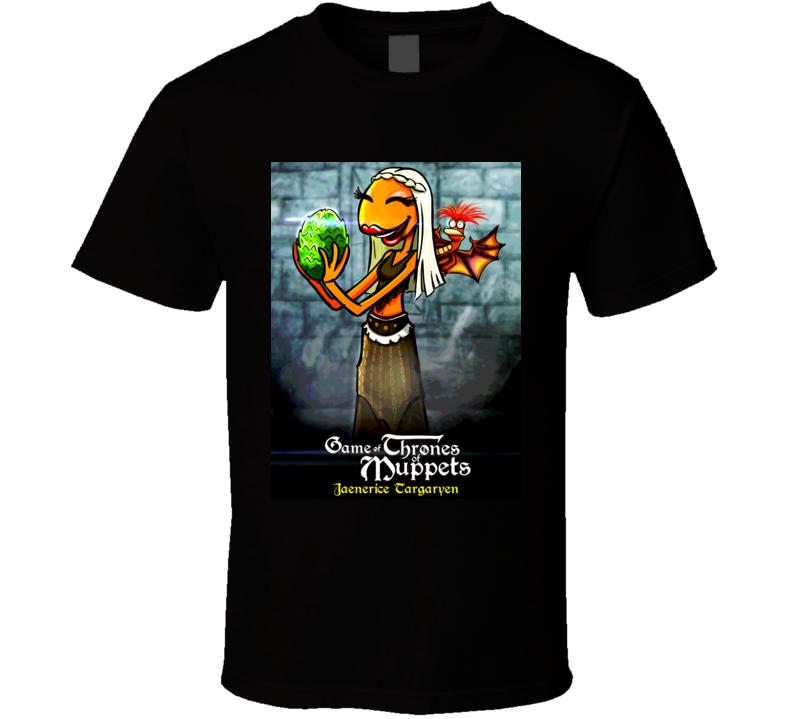 A Game Of Thrones Muppet Parody Jaenerice Targaryen Tshirt