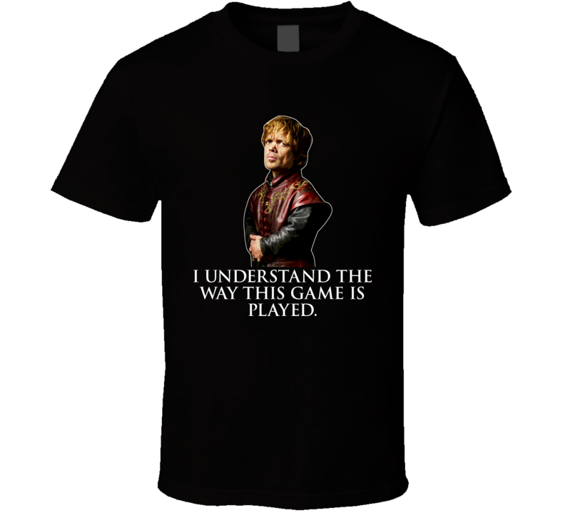 A Game Of Thrones Tyrion Lannister T Shirt
