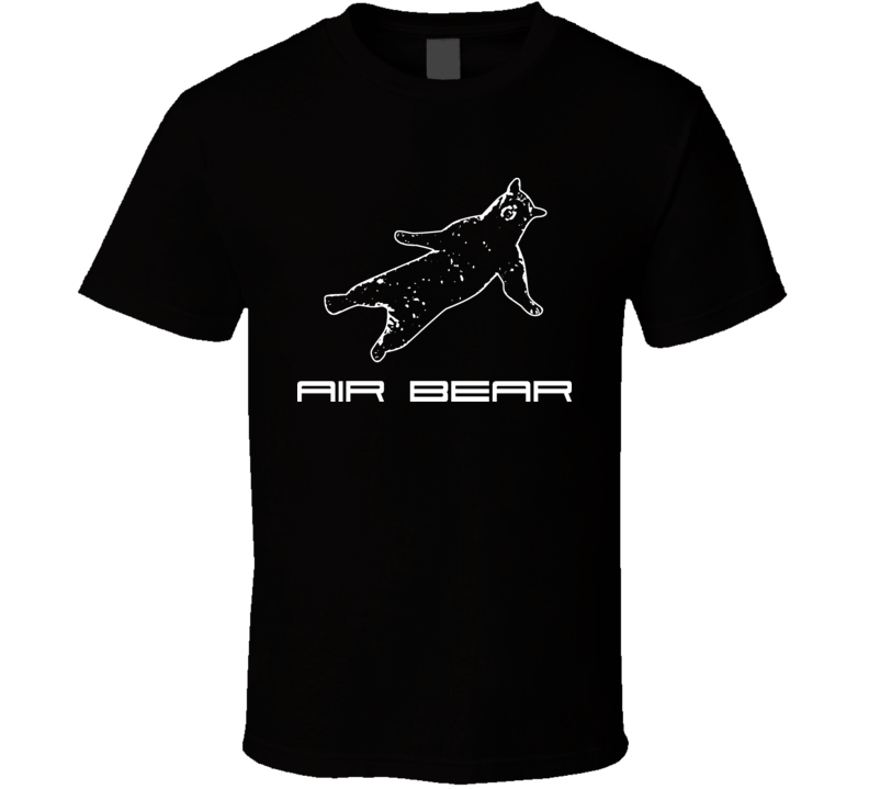 Funny Air Bear T Shirt