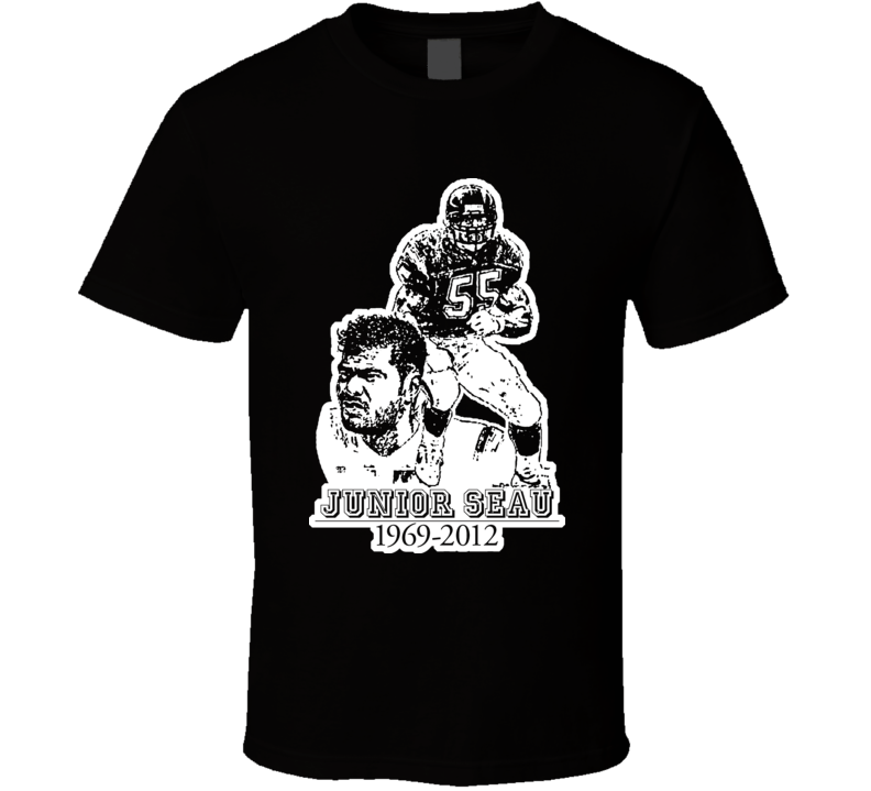 Junior Seau San Diego Football T Shirt