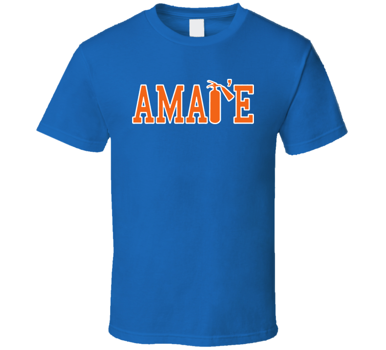 Amare Stoudemire Fire Extinguisher New York Basketball T Shirt
