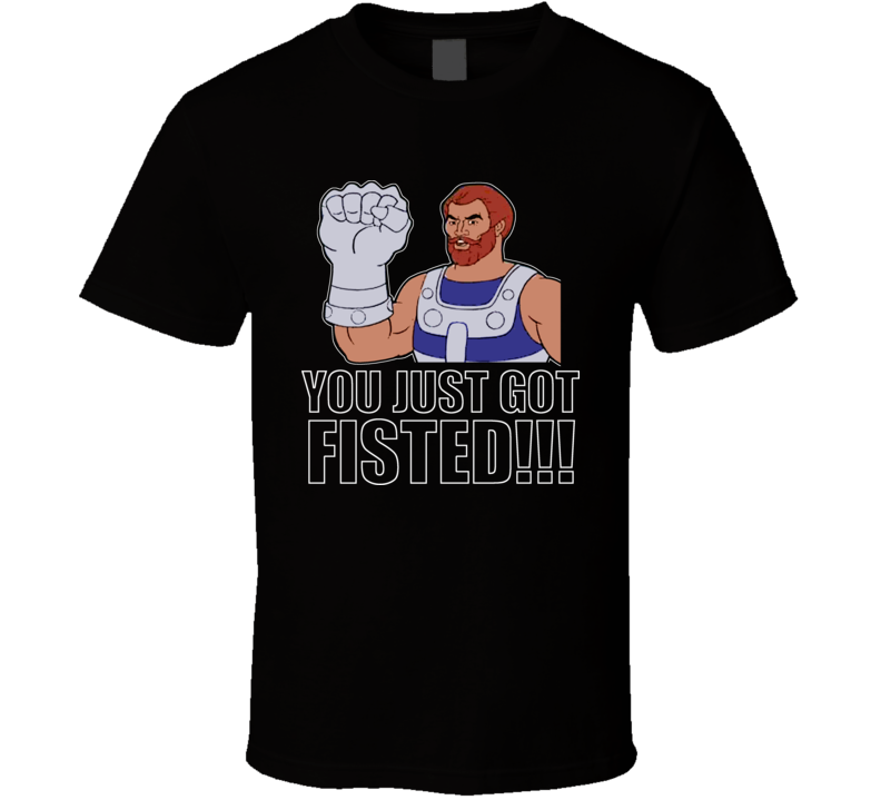 Fistor 80s Classic Cartoon Fisted T Shirt