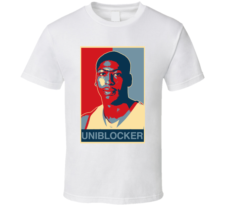 Anthony Davis New Orleans Basketball UNIBLOCKER Hope T Shirt