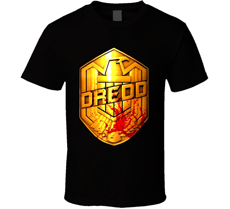 Judge Dredd Movie Poster T Shirt