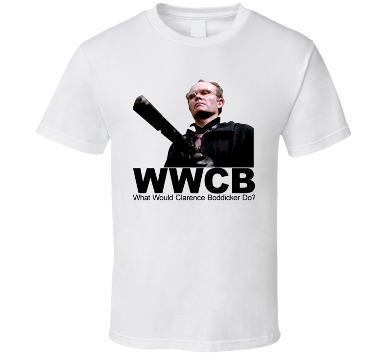 What Would Clarence Boddicker Do Robocop T Shirt
