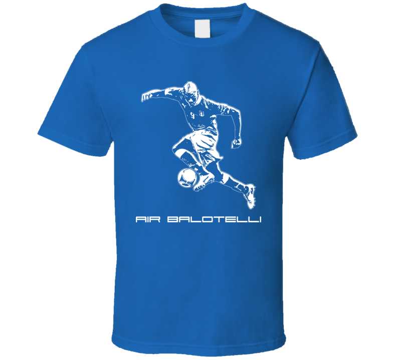 Air Mario Balotelli Italy Soccer T Shirt