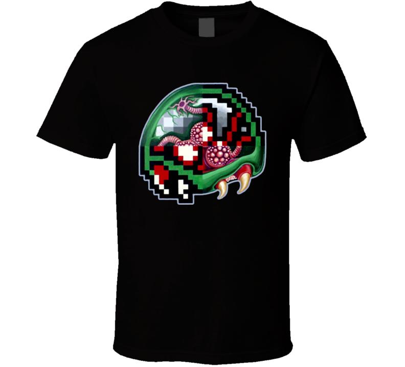 8 Bit Metroid T Shirt