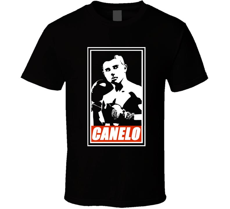 """Saul """"El Canelo"""" Alvarez Mexican Obey Boxing T Shirt"""