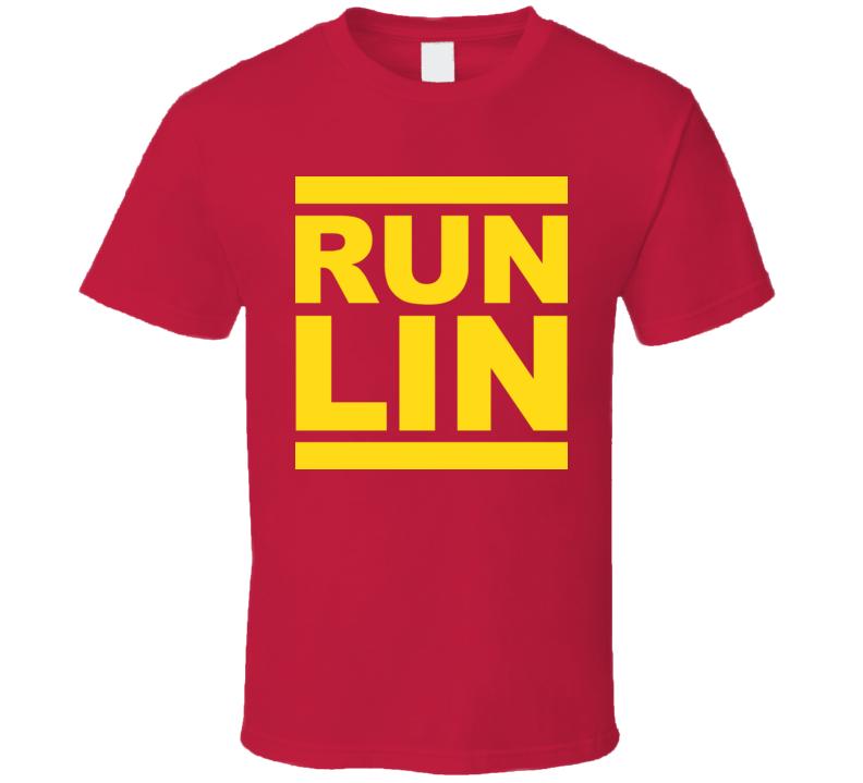 Jeremy Lin Run Lin T Shirt