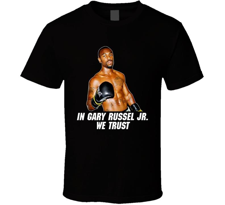 Gary Russel Jr Boxing Tshirt