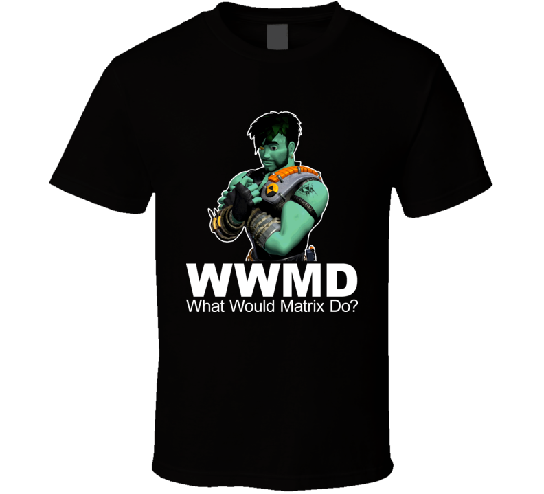 Reboot Cartoon What Would Matrix Do T Shirt
