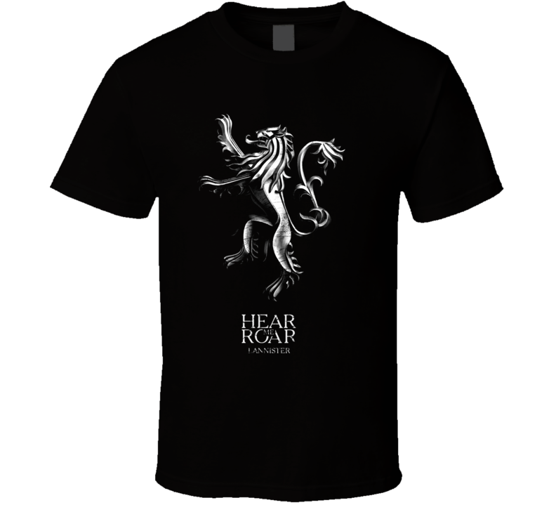 A Game Of Thrones House Lannister Sigil T Shirt