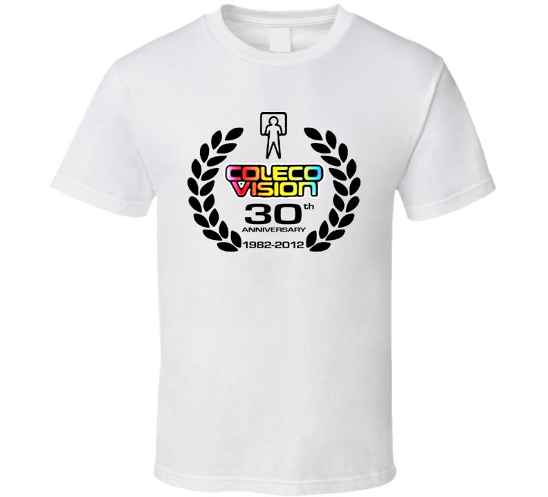 Coleco Vision 30th Anniversary T Shirt