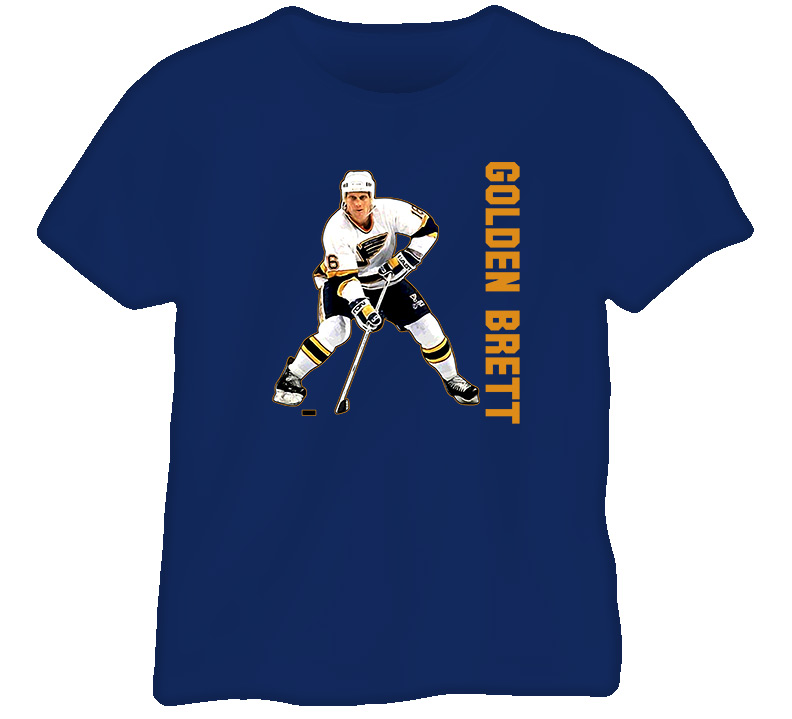 Brett Hull Golden Brett T Shirt